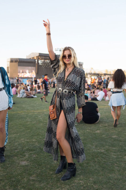 Coachella 2016 Side Slit Dress