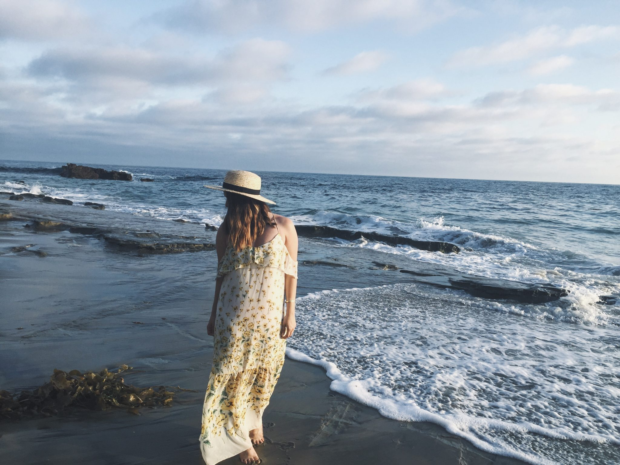 Zara Dress at Laguna Beach