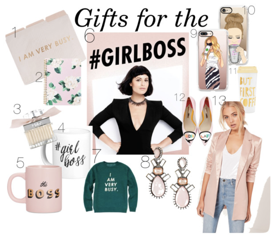 #GirlBoss Gift Guide + Bonus: Online Shopping Tips