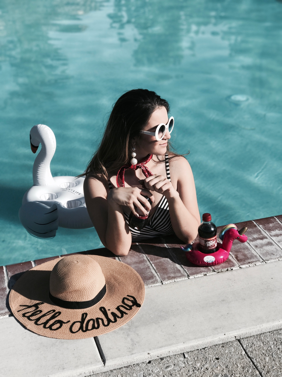 Poolside Essentials with Dr Pepper