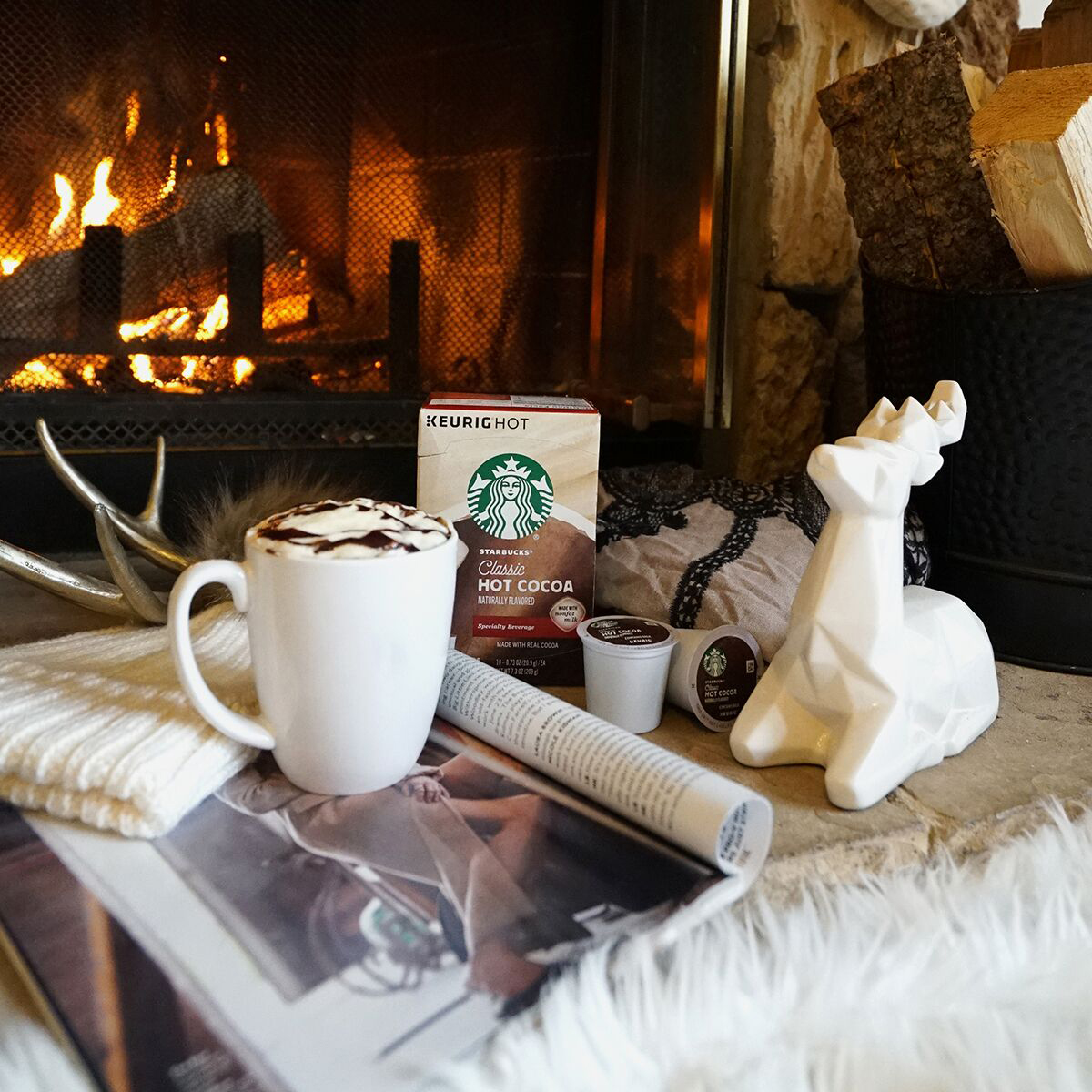 Starbucks Share the Cheer Sweepstakes - Holiday Moments